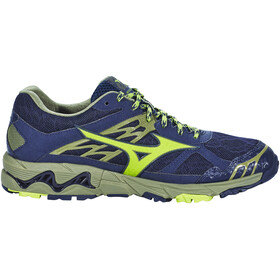 Mizuno Wave Mujin 4 G-TX Shoes Men Dress Blues/Greenery/Olivine